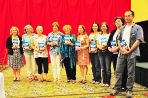 The authors of The Listening Journey for Children Book Launch Panama Tomatis Method Conference